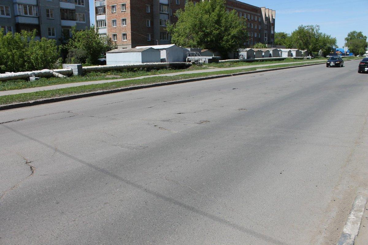 Карта убитых дорог города Омск